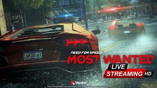 Perseguição ALUCINANTE em Need For Speed Most Wanted (Premium Mod / DLC Complete Pack) - Live Stream